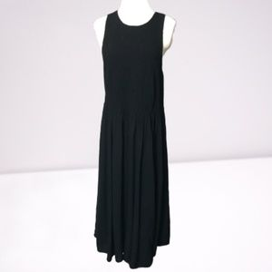 Torrid Sz 2 Black Rayon Sleeveless Dress *92H*